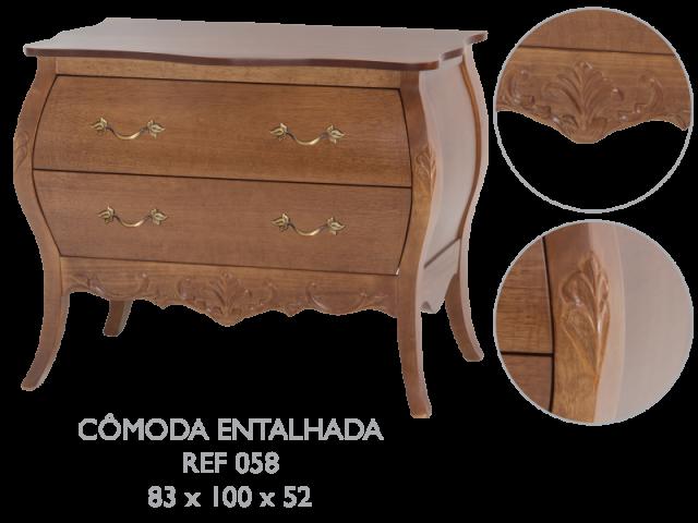 CÔMODA ENTRALHADA