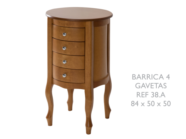 BARRICA 4 GAVETAS