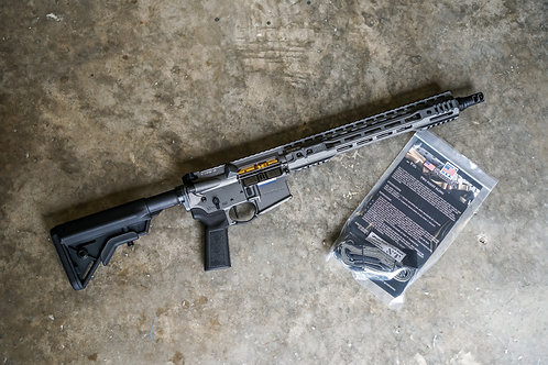 """Type A 13.7"""" Pro Tungsten W/ Sly Tactical Sling"""
