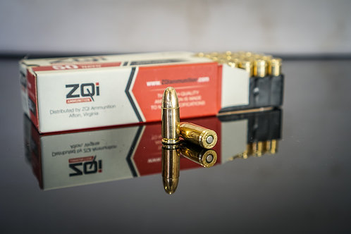 1000 Round Brass Case ZQI 124g 9mm Ammo