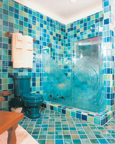 three piece molded framless shower patte
