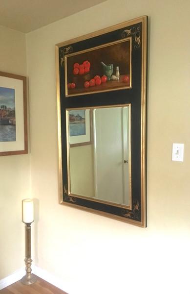 Trumeau Mirror with Still Life