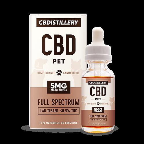 CBDISTILLERY Pet 150 mg