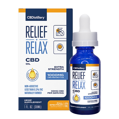 Relief and Relax Full Spectrum Oil