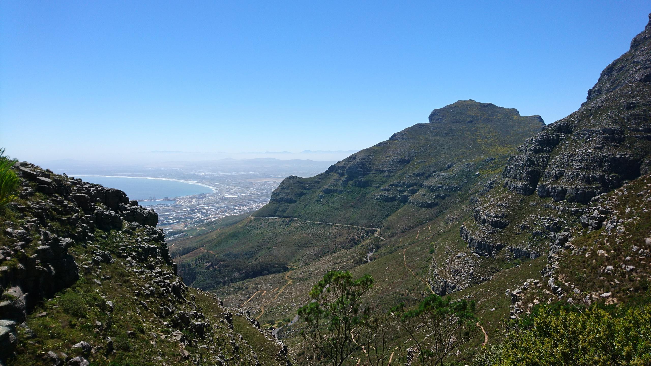Table Mountain Hiking