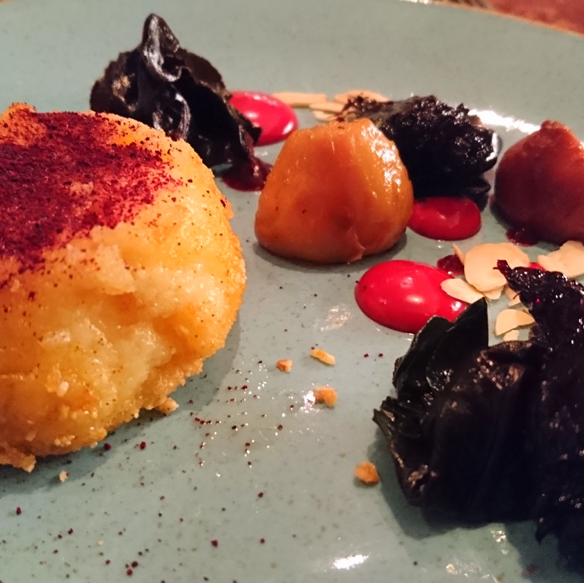 Goats Cheese and Beets 3 ways