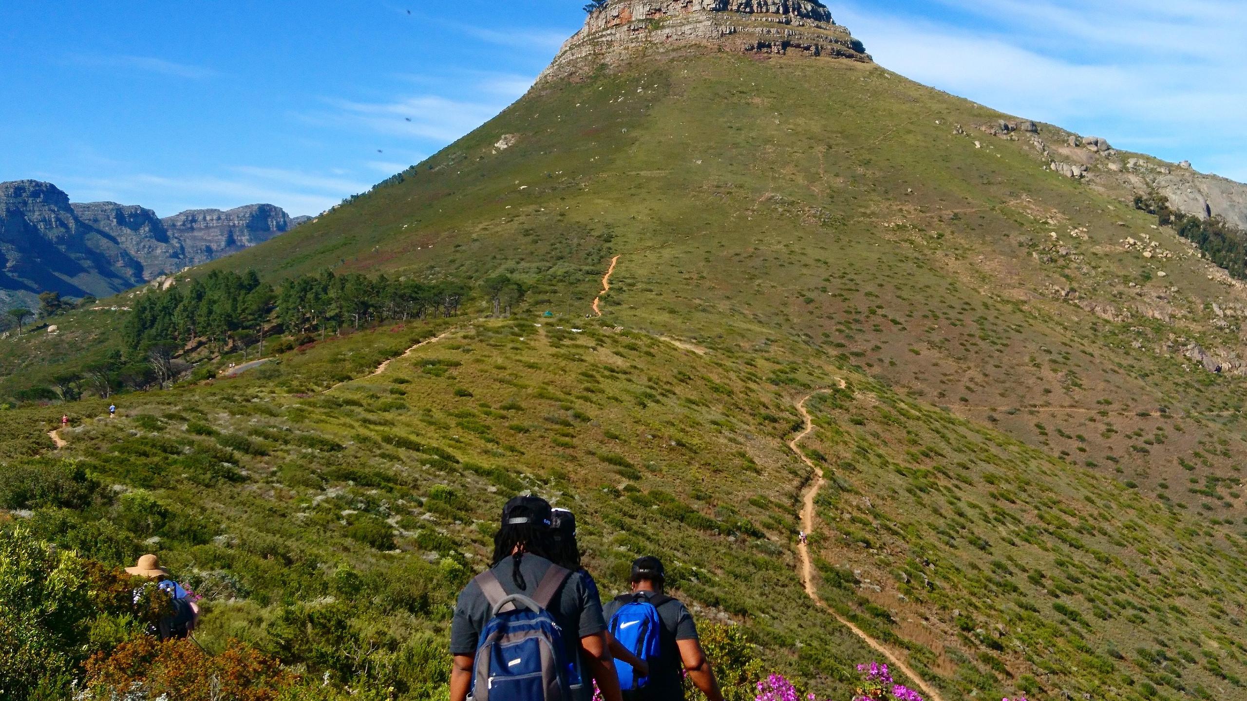 Singnal hill hiking