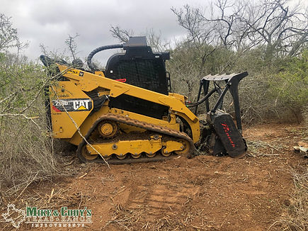Land Clearing, Mulcher Clearing in south Texas