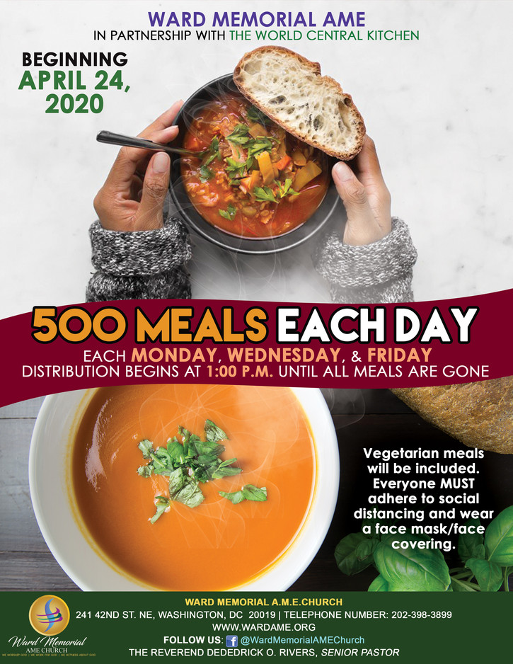 Giving Away 500 Meals