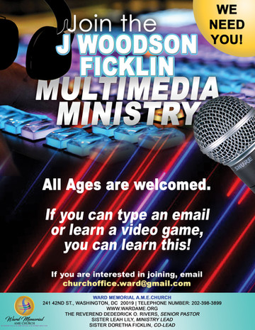 Join Multimedia Ministry