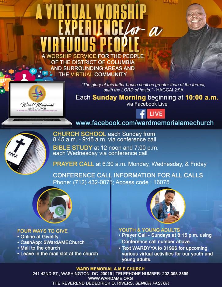 A Virtual Worship Experience