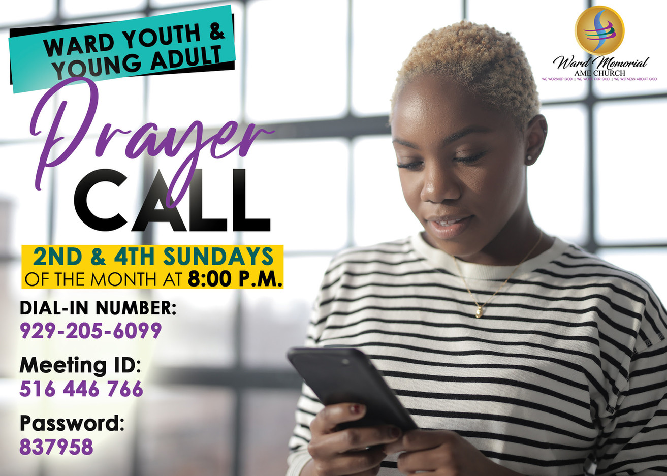 Youth & Young Adult Prayer Call