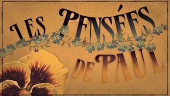 LES PENSEES DE PAUL