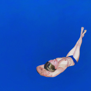 Kati in Blue