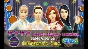 BLACKPINK - 뚜두뚜두 -DDU-DU DDU-DU- [TS4 - Dance Cover] Revamp