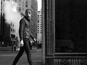 Skinny Man Walking