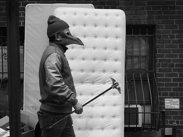 Man and Mattress