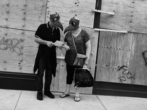 Couple and Boarded Store