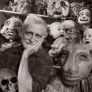 Mask Maker, Artist, Greenwich Village