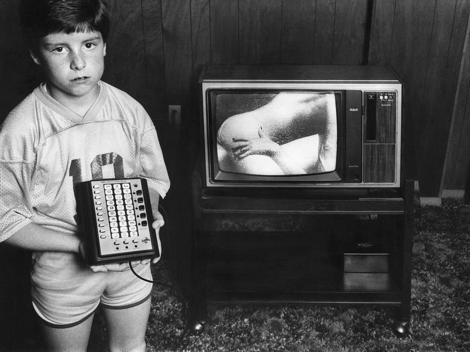 """I watch the adult cable when Mom and Dad are out."""" – Donny Dicebox"""