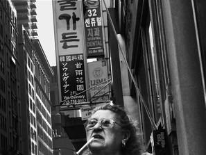 Woman in Koreatown