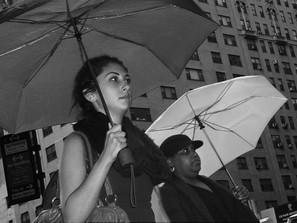 Women with Umbrellas