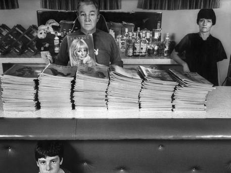"Harry's Bar. ""I have every Playboy since 1956."" – Harry Dicebox"