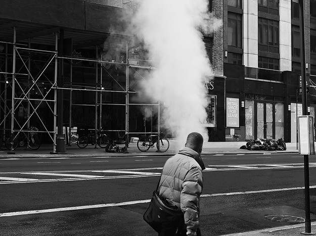 Steam on 34th Street
