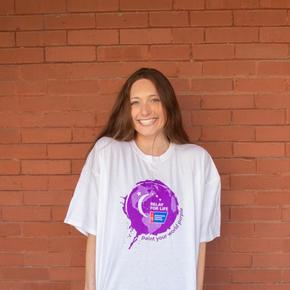 Paint Your World Purple T-Shirt