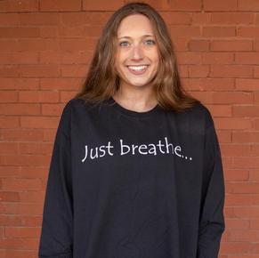 Just Breathe Long Sleeve