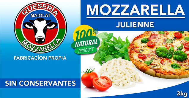 Mozzarella Julienne