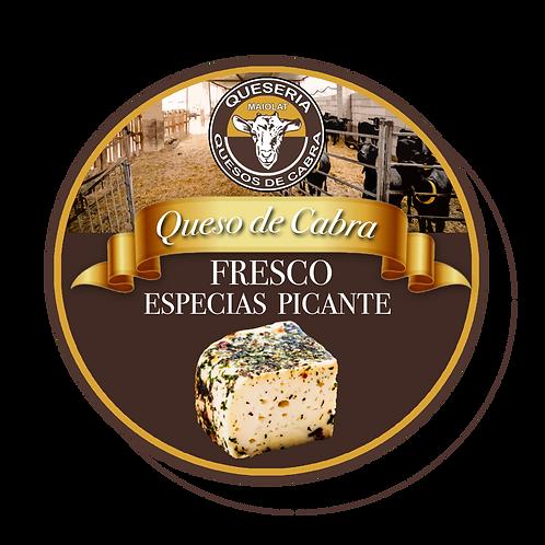 Queso de Cabra fresco con Especias/Picante