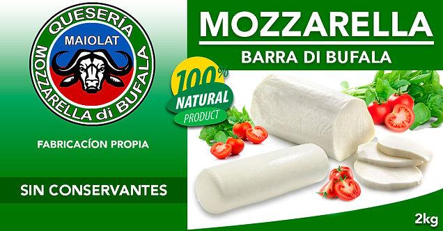 Mozzarella Barra con Leche de Búfala