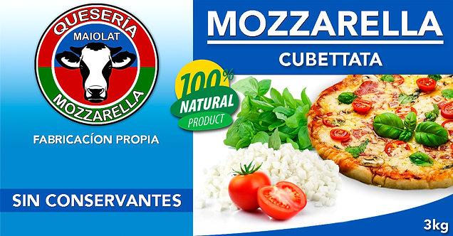 Mozzarella Cubettata Corte Napole 5mm