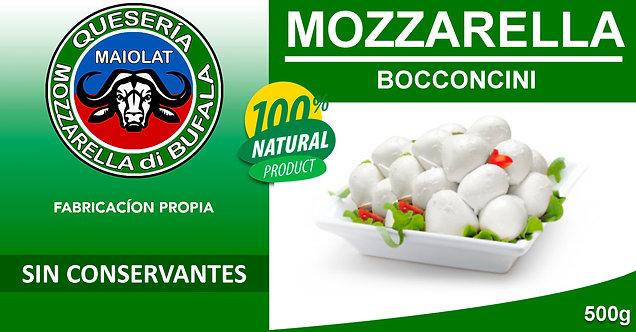 Mozzarella Bocconcini con Leche de Bufala