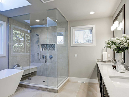 Instalação de condicionador de ar em banheiros