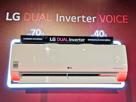 LG atualiza linha de condicionadores de ar DUAL Inverter