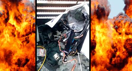 Por que o ar-condicionado explode?