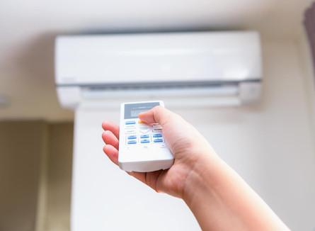 O que fazer se o controle do ar-condicionado não funciona?