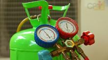 Como recolher o gás do ar-condicionado?