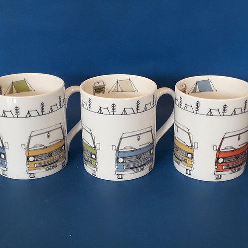 T25 Collection Tea Mugs, Set of Four