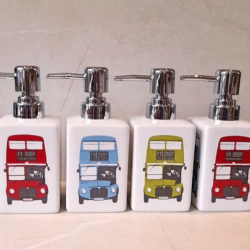 Soap Dispenser -London Bus - Multi Colour