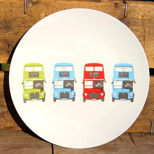 Dinner Plate -London Bus