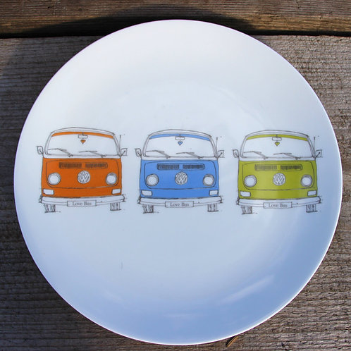 Bay Side plates - set of four