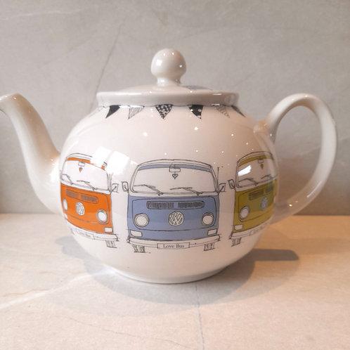 Large Tea Pot - Bay - English Earthenware