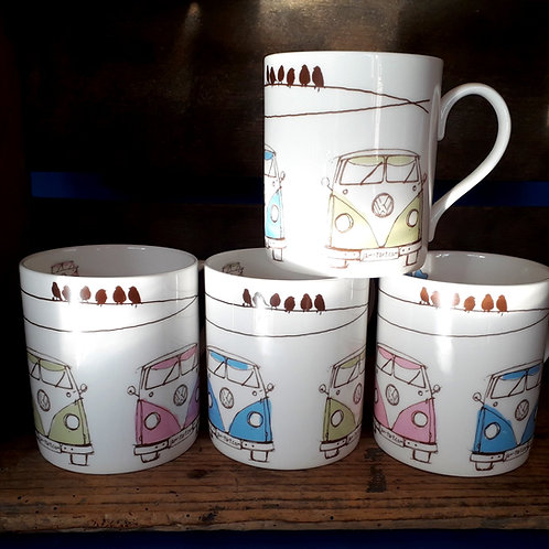 Splitty - Collection Tea Mugs, Set of Four