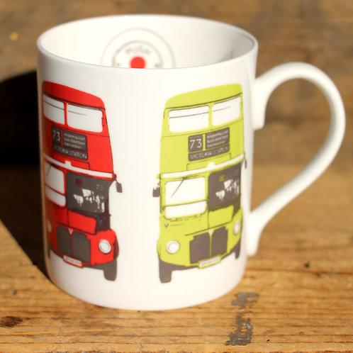 Tea Mug-London Bus
