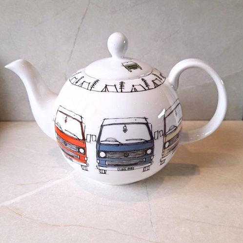 Large Round Tea Pot - T25