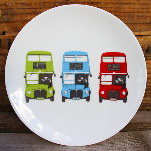Side plate - London Bus