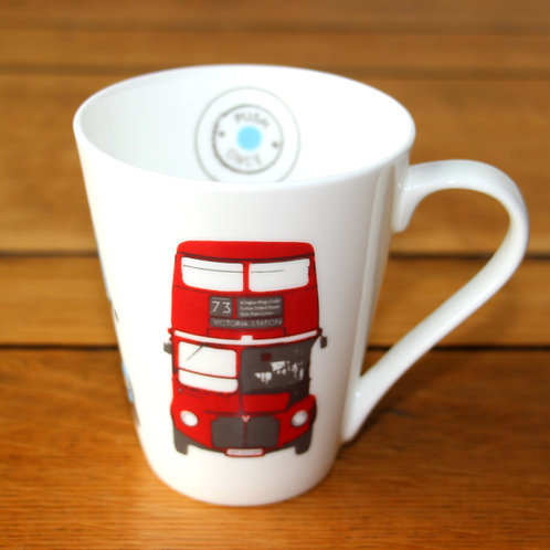 Coffee Mug-London Bus